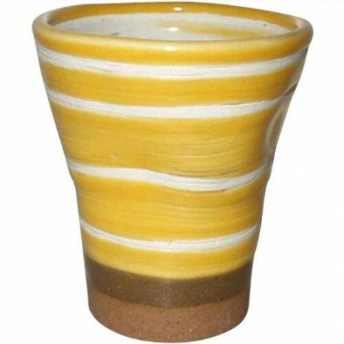 フリーカップ : ミコノスイエロー グラス/有田焼