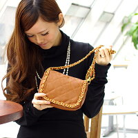 2WAY cowhide multi-inner pocket bag shoulder strap (V65121210) belonging to