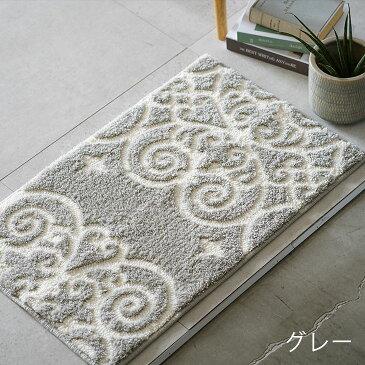 洗える 日本製 玄関マット クラッシーマット 50×80cm 室内cucan● 通算20,000枚 国産 洗える 北欧 滑り止め ラグマット エントランスマット 玄関マット スミノエ  おしゃれ かわいい 屋内 ベージュ ブラウン グレー ピンク