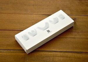白山 HAKUSAN 波佐見焼 ギフト 5個セット とり型 とり はしおき 箸置き 引越し ギフト 粗品 御...