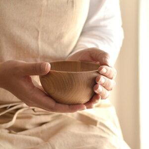 木のお椀M【お椀木製おわん茶碗おしゃれ茶碗軽木食器ボウルおしゃれスタッキング】
