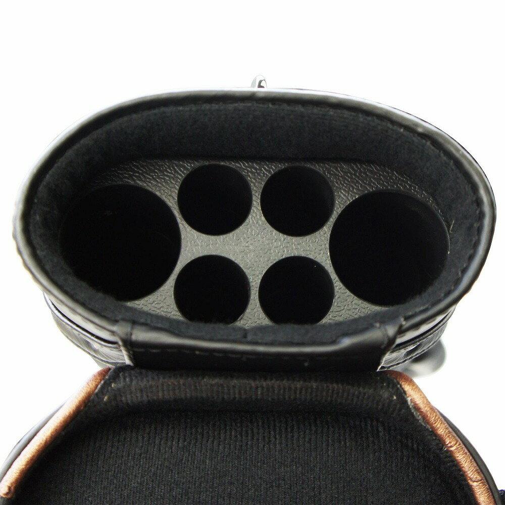 ビリヤード キューケース ブラック 自立スタンド付 62256A (バット2本シャフト4本収納)