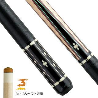 【限定】ビリヤードキューPredatorプレデターWillie526-3ラジアル(314-3シャフト装備)