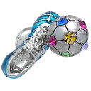 サッカーシューズ&ボール(ブルー)SWANK ピンズ【ピンズ・ラペルピン】メンズアクセサリーの通販ギ ...