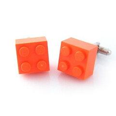 LEGOブロックを使った遊び心をくすぐるユニークなカフス。カフス カフスボタン Lego ブロック ...