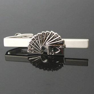領帶別針(領帶夾)撲克牌動機領帶別針(領帶夾)10P03Dec16人氣的領針領帶夾領帶別針
