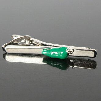 領帶別針(領帶夾)小綠辣椒領帶別針(領帶夾)10P03Dec16人氣的領針領帶夾領帶別針