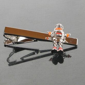[鐮倉袖口工房]領帶別針(領帶夾)領帶別針重新流行機器人領帶夾[明天支持輕鬆的_關東][郵費免費][RCP]10P03Dec16人氣的領針領帶夾領帶別針