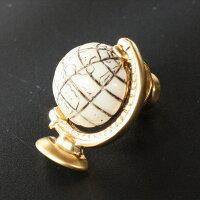 SWANKスワンク地球儀モチーフラペルピン・ピンズメンズsw036