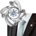 Crossforクロスフォー Spiral1 ラペルピン ブローチ NY-T014 あす楽対応日本製 ブランド 結婚式 スーツアクセサリー専門店 ブライダル 披露宴 二次会 お呼ばれ パーティー おしゃれ カフスマニア