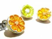 パルナートポック ジューシィハーフ ブラフシューペリア フルーツ オレンジ アクセサリー ジュエリー プレゼント カラフル ナチュラル
