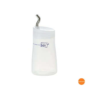 プルー ディスペンサー S 180cc ナチュラル BDI-39[関連:タケヤ化学工業 業務用 調理小物 調味料入れ ボトル 容器 しょう油 醤油 ソース ラー油]