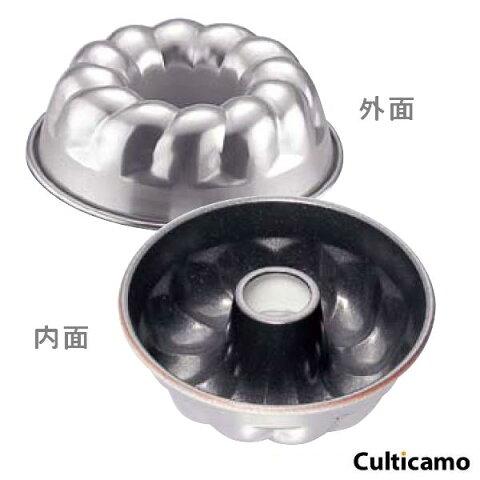 アルミ ナノ・コーティング リングケーキ型 T106030 WKC-O3[関連:業務用 製菓用品 お菓子作り 洋菓子 NanoFX フッ素樹脂加工 クグロフ ケーキ型]