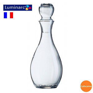 Luminarc エレガンスキャラフェ ガラス製 57972 1,000cc PDK-05[関連:Arcoroc フランス ブランド ワイン用品 デカンタ カラフェ ワイン ジュース 水差し デキャンタ 家飲み]