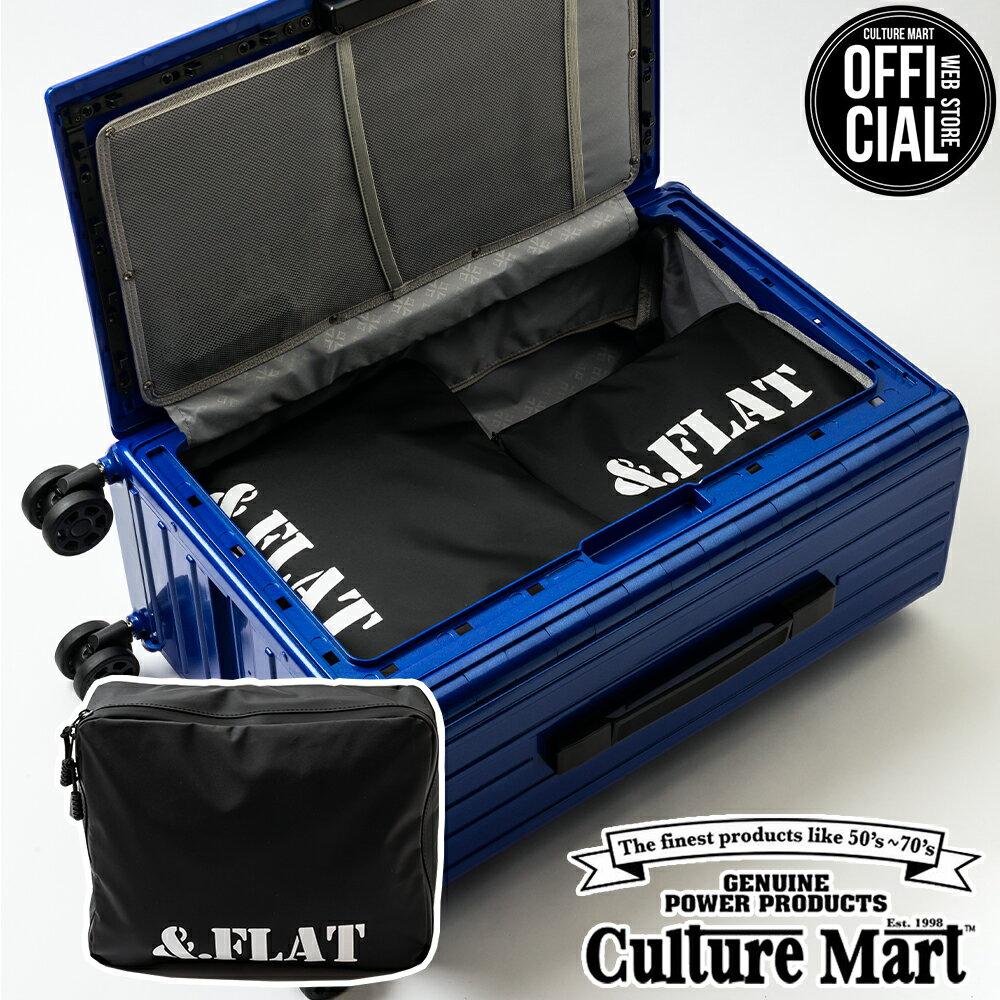 產品詳細資料,日本Yahoo代標 日本代購 日本批發-ibuy99 包包、服飾 包 箱包配件 袋組織者/袋中袋 &.FLAT (アンドフラット) キャリーケースオーガナイザー (Mサイズ) CARRY CASE…
