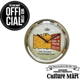 CULTURE MART(カルチャーマート) ウォールクロック GデザインWALL CLOCKアメリカン雑貨壁掛け時計 インテリア雑貨アメリカン雑貨 アンティーク ヴィンテージ
