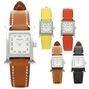 【6時間限定ポイント10倍】【返品OK】エルメス 腕時計 レディース HERMES Hウォッチ ミニ TPM 17.2×17.2 シルバー