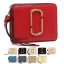 マークジェイコブス 財布 二つ折り財布 スナップショット レディース MARC JACOBS M0014282 M0013360