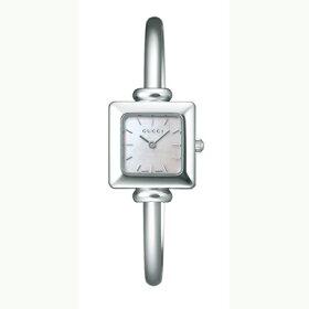 グッチGUCCI腕時計1900シリーズホワイトパール/シルバーレディースウォッチ