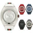 【期間限定ポイント10倍】【返品OK】グッチ 腕時計 レディース メンズ SYNC シンク 46MM クォーツ GUCCI