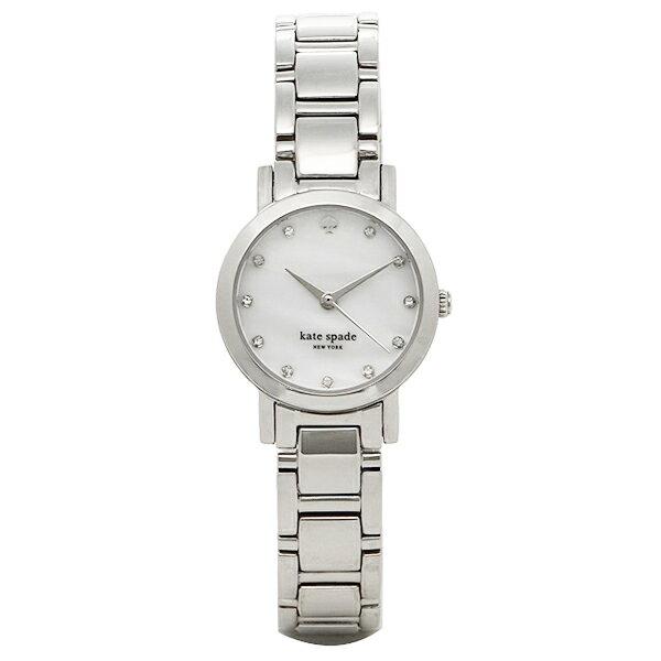 ケイトスペード 腕時計 kate spade ケイト スペード 時計 レディース ケイト・スペード 1YRU0146 グラマシーミニ ウォッチ ホワイトパール/シルバー