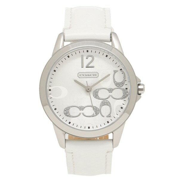 81037940a2e2 コーチ 腕時計 レディース COACH クラシック NEW CLASSIC SIGNATURE ニュークラシックシグネチャー 時計/ウォッチ シルバー