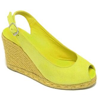 研究耶魯 Castaner 高坡 kastan 耶魯高坡婦女 Castaner 貝利/8 539 18 麂皮涼鞋鞋 LIMON 檸檬