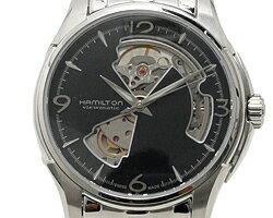 ハミルトンHAMILTON時計腕時計メンズハミルトン時計メンズHAMILTONH32565135ジャズマスタービューマチックオープンハート腕時計ウォッチシルバー/ブラック