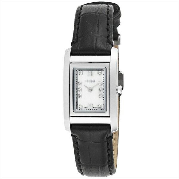 フェンディ FENDI 時計 腕時計 フェンディ 時計 レディース FENDI F761241D LOOP ウォッチ ブラック/ホワイト:ブランドショップ AXES