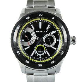 セイコーSEIKO時計腕時計メンズセイコー時計メンズSEIKOSNT023P1CRITERIAクライテリア腕時計ウォッチシルバー/ブラック