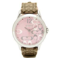 コーチ COACH 時計 腕時計 コーチ 腕時計 レディース COACH クラシック 14501621 NEW CLASSIC SIGNATURE ニュークラシックシグネチャー 時計/ウォッチ ピンク