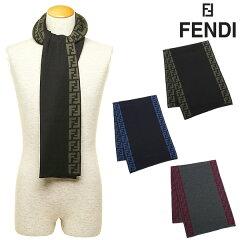 フェンディ FENDI メンズ フェンディ マフラー レディース メンズ FENDI FXS198 L1N 26×180cm 選べるカラー