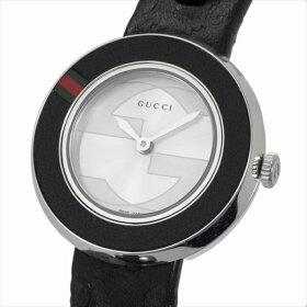 グッチ腕時計GUCCIYA129515-SET-BKGGブラックホワイト
