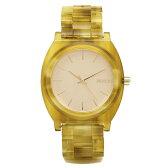 ニクソン NIXON 時計 タイムテラー 腕時計 メンズ ニクソン 腕時計 レディース/メンズ NIXON A3271423 TIME TELLER ACETATE タイムテラー アセテート ウォッチ ゴールド