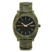 ニクソン NIXON 時計 タイムテラー 腕時計 メンズ ニクソン 時計 メンズ/レディース NIXON A327 1428 TIME TELLER タイムテラーアセテート 腕時計 ウォッチ マットブラック/カモフラージュ