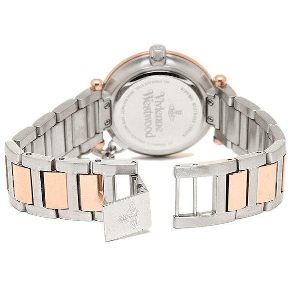 ヴィヴィアン腕時計ヴィヴィアンウエストウッドVV006RSSLシルバーピンクゴールド