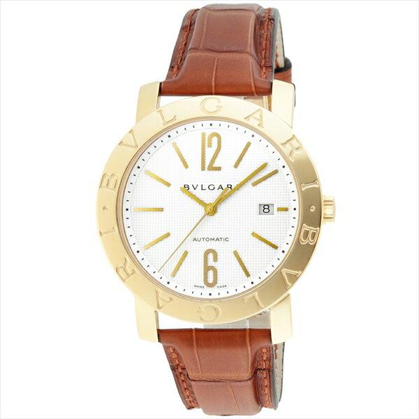 ブルガリ BVLGARI 時計 腕時計 メンズ ブルガリ 時計 メンズ BVLGARI BB42WGLDAUTO ブルガリブルガリ 自動巻き 腕時計 ウォッチ ブラウン/ホワイト
