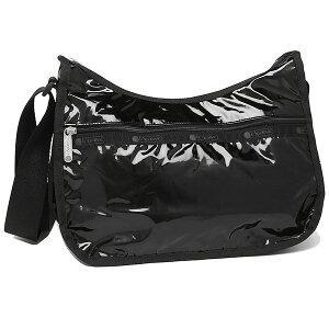LeSportsac レスポートサック クラシックホーボー ショルダーバッグ ブラック パテント