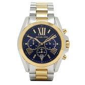 マイケルマイケルコース 時計 レディース MICHAEL MICHAEL KORS MK5976 BRADSHAW CHRONOGRAPH 腕時計 ウォッチ シルバー/ブルー