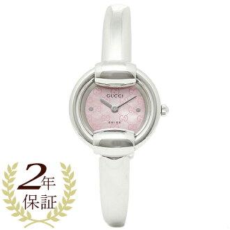 9ab1f200e47 古驰GUCCI钟表手表古驰钟表女士GUCCI手表1400 YA014513不锈钢粉红珍珠表