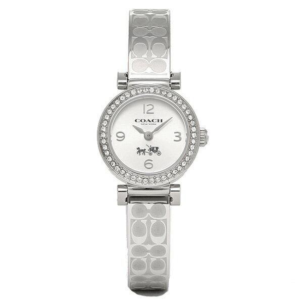コーチ 時計 レディース COACH 14502201 MADISON FASHION マディソンファッション ブレスレット 腕時計 ウォッチ シルバー クリスマスセール