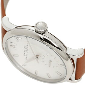 マークバイマークジェイコブスMARCBYMARCJACOBS時計腕時計マークバイマークジェイコブス時計レディースMARCBYMARCJACOBSMBM1265BAKERベイカー腕時計ウォッチブラウン/ホワイト