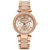マイケルマイケルコース 時計 レディース MICHAEL MICHAEL KORS MK6110 PARKER 腕時計 ウォッチ ピンクゴールド