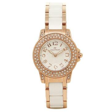 【4時間限定ポイント10倍】【返品OK】フォリフォリ FOLLI FOLLIE 時計 腕時計 フォリフォリ 時計 FOLLI FOLLIE 腕時計 レディース WF9B020BPS ホワイト/ピンクゴールド ウォッチ