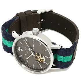 フルボデザイン時計メンズFurbodesignF2001SNVGR自動巻き腕時計ウォッチグレー/グリーン
