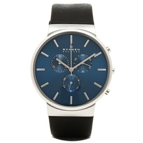 スカーゲン 時計 メンズ SKAGEN SKW6105 ANCHER アンカー 腕時計 ウォッチ ブラック/シルバー/ブル...