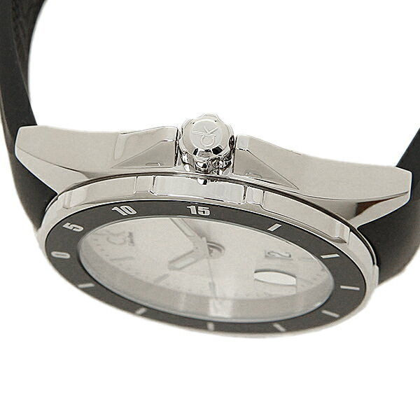 b0fee54c43 カルバンクライン 時計 メンズ CALVIN KLEIN K2W21X.D6 PLAY プレイ 腕時計 ウォッチ シルバー/ブラック 最新製品