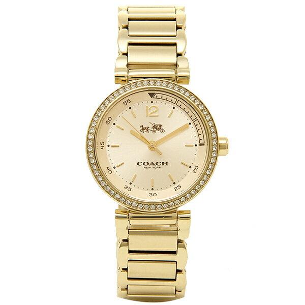 コーチ 腕時計 COACH 14502195 イエロ−ゴ−ルド:ブランドショップ AXES