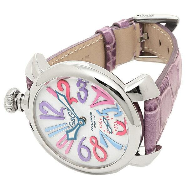 ガガミラノ 時計 手巻き メンズ GAGA 腕時計 MILANO 5010.09S PURPLE ...