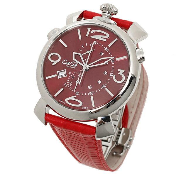 ガガミラノ メンズ腕時計 時計 メンズ GAGA MILANO 腕時計 5097.04RD ...